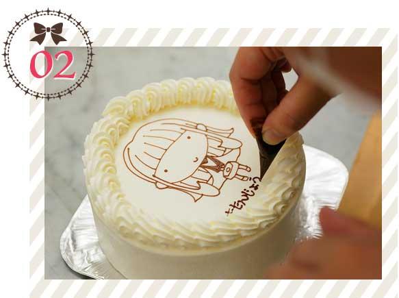 コンチェルトケーキ写真