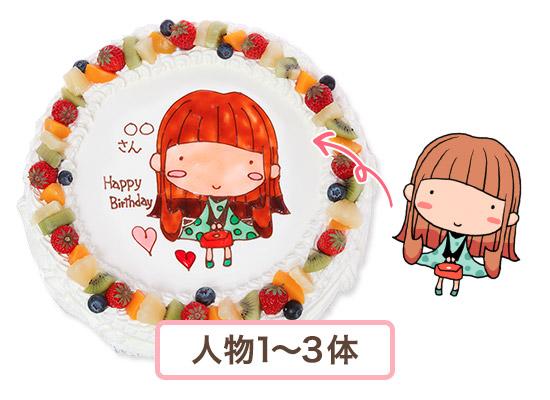 キャラクターケーキ10号 30cm (20人様用〜)