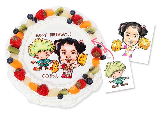 コラボケーキ