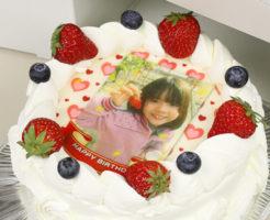 写真ケーキ