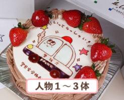 お絵かきケーキ9号
